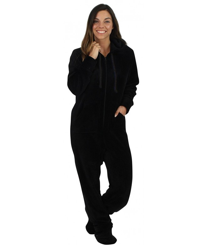 SleepytimePjs Womens Fleece Onesie Pajamas