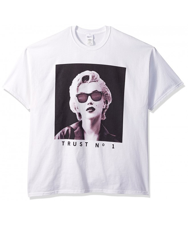 Marilyn Monroe Trust T Shirt White