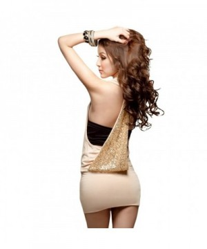 LOCOMO Halter Sequin Dress FFD006BEI
