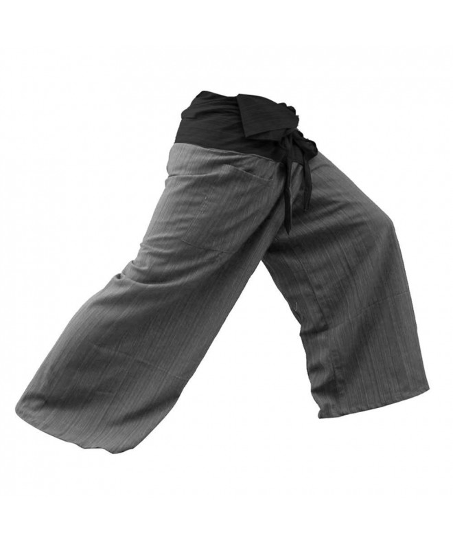 THAICOMPLEX Fisherman Pants Trousers Cotton