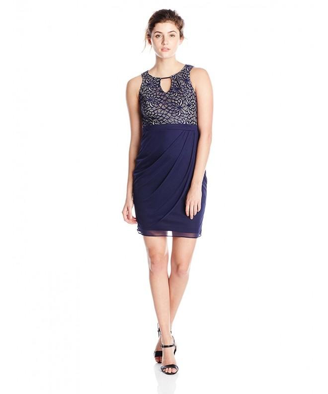 Jump Juniors Lace Chiffon Dress