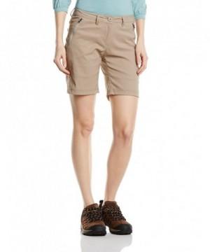 Craghoppers Womens Stretch Shorts Mushroom