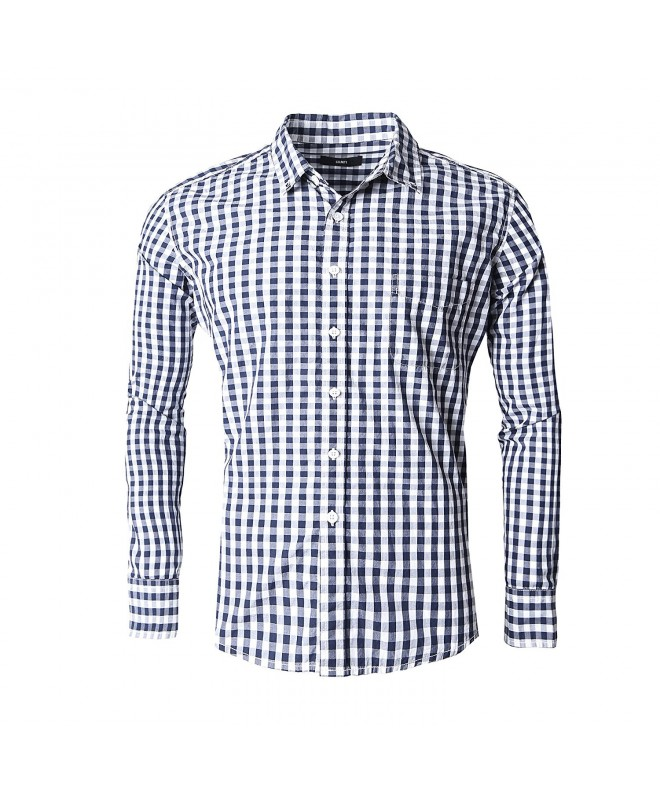 GILBETI Button Sleeve Dress Shirts