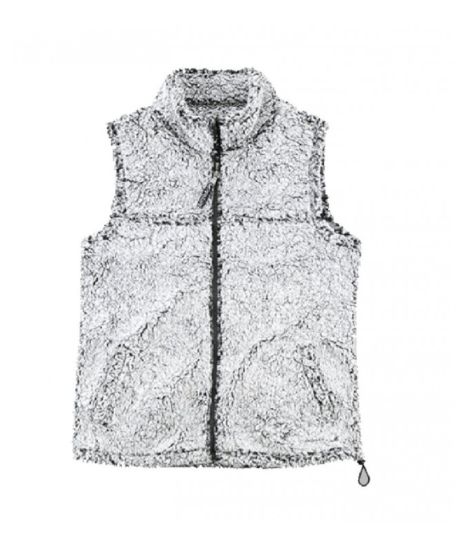 boxercraft Adult Sherpa Vest Smokey Grey medium