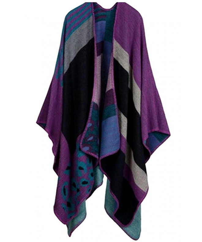 VamJump Cashmere Oversized Cardigan Purple 2