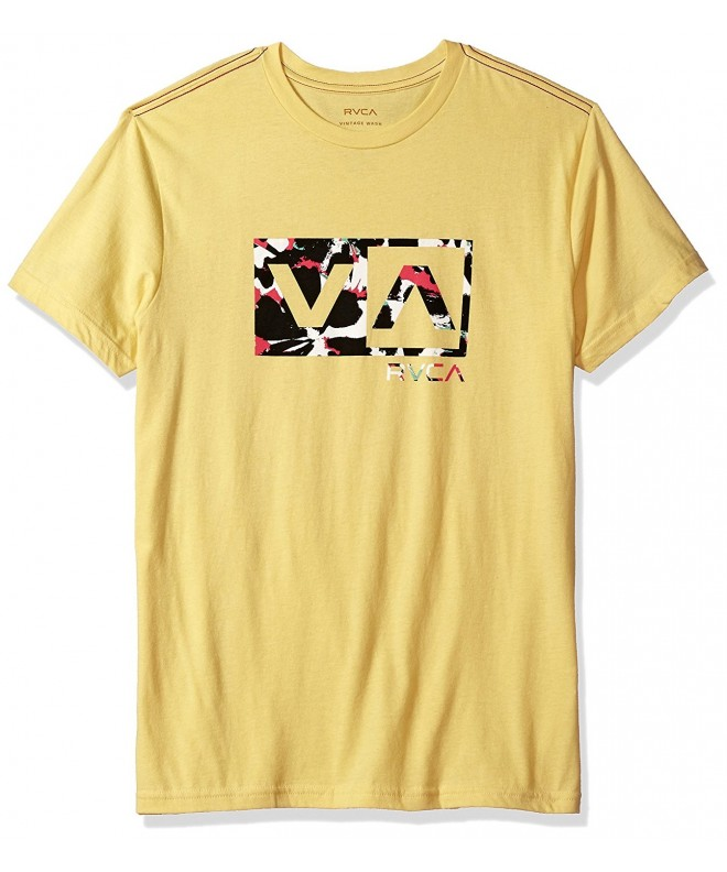 RVCA Mens Southeast Bright Lemon