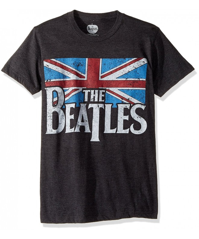 Bravado Beatles Distressed British T Shirt