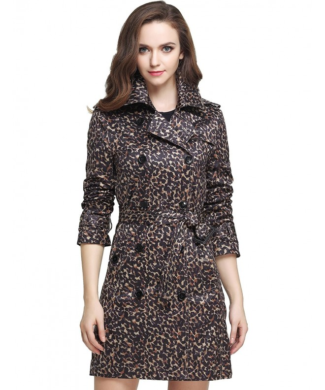 Camii Mia Leopard Breasted X Large