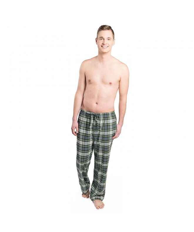 Intimo Plaid Pant Green Large