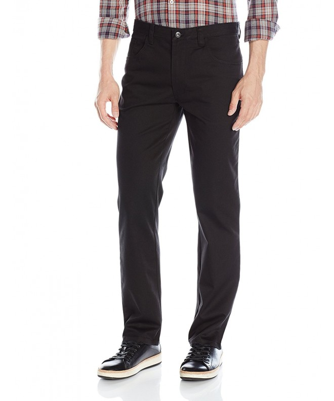 Van Heusen Mens Pocket Black
