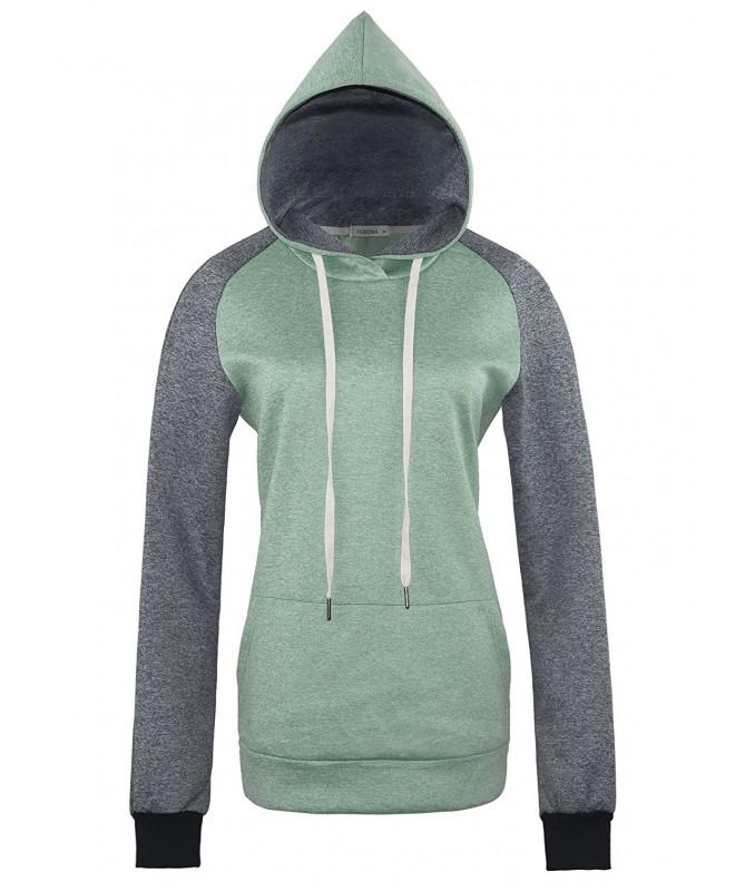 FEBIONA Womens Sweater Pullover Hoodies