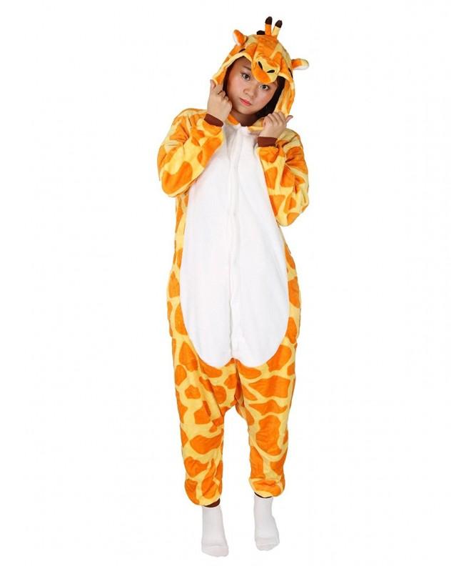 Giraffe Pajamas Sleepwear Kigurumi Halloween