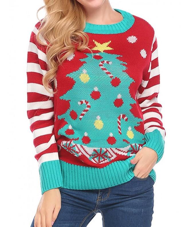 Soteer Christmas Sweater Sweatshirt Pullover