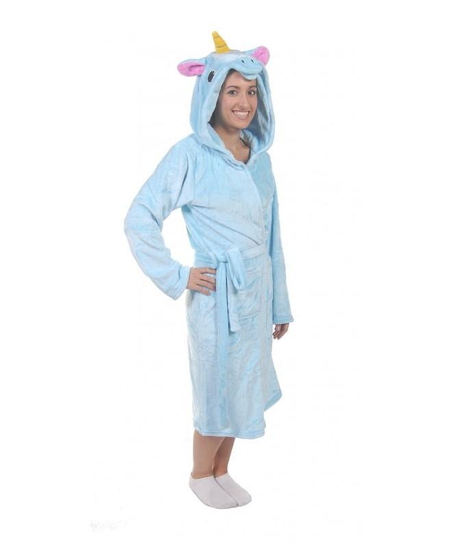 Forever Lazy Animal Robe Unicorn