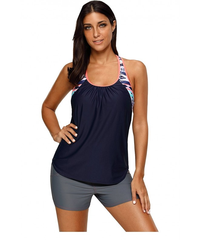 HUUSA Blouson Printed Swimwear XL