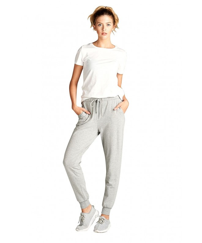 Womens Athletic Inspired Marled Jogger P03_HGREY