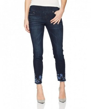 Jag Jeans Womens Amelia Embroidery
