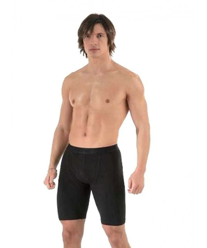 ELEGANCE123 Mens Long Boxer Shorts