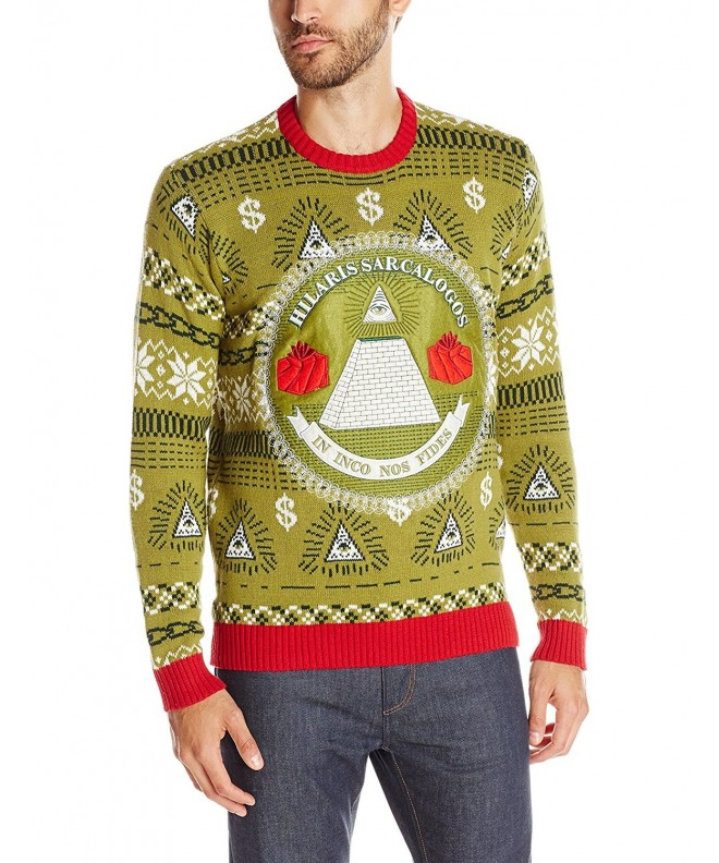 Blizzard Bay Illuminati Christmas Sweater
