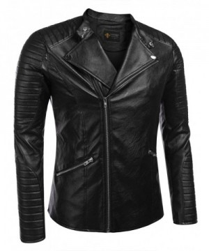 Cheap Men's Faux Leather Jackets