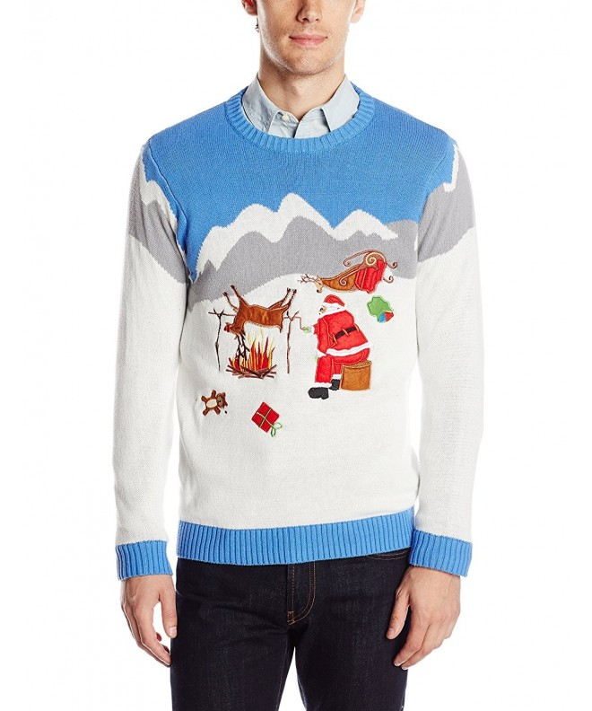 Blizzard Bay Reindeer Christmas Sweater