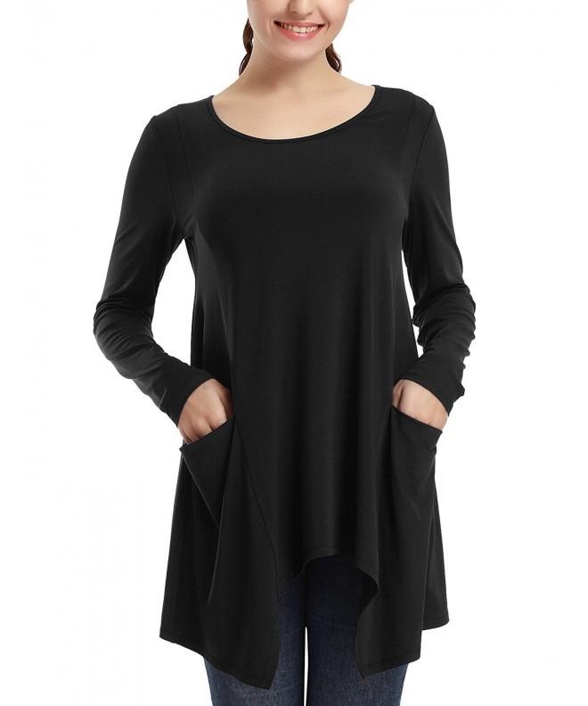 Vessos Womens Casual T shirt X Large