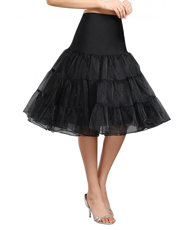 Kumeng Vintage Rockabilly Petticoat Underskirt