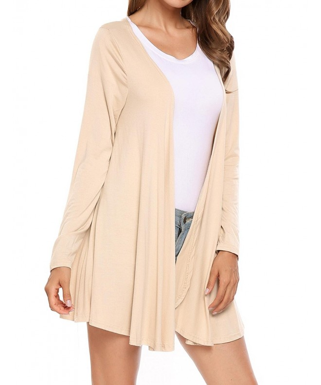 Soteer Womens Sleeve Casual Cardigan