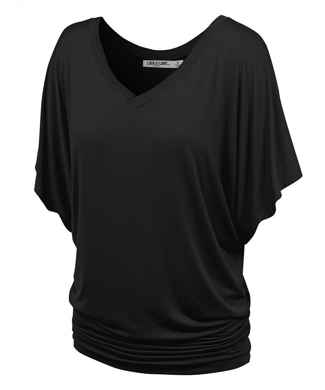 WT1038 Womens Short Sleeve Dolman