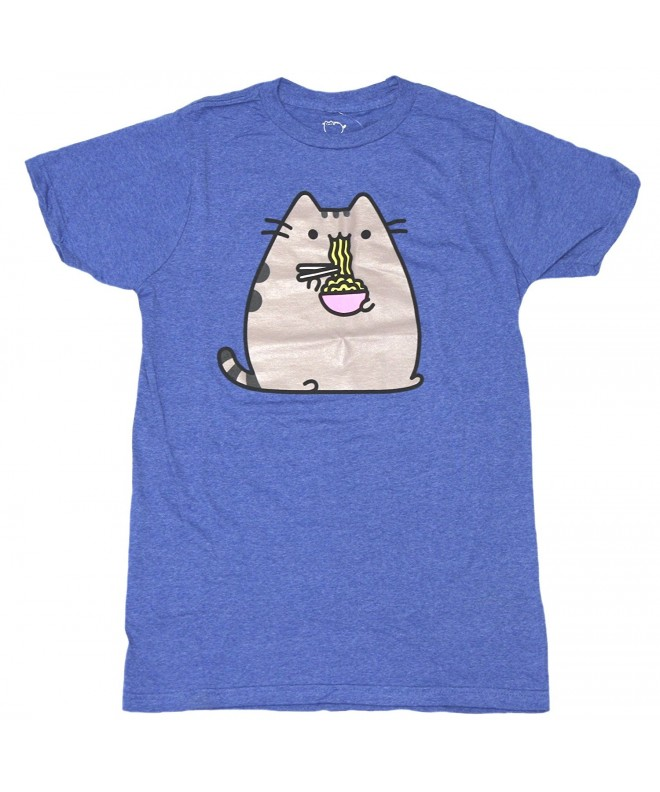 Pusheen Mens Noodles T Shirt M
