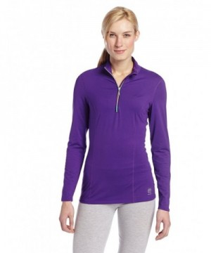 Womens Veluxe Rainbow T Neck Purple