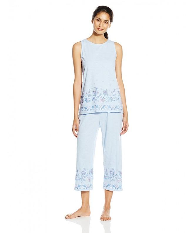 Jockey Womens Capri Pajama Shirting