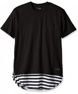 WT02 Sleeve Yarn Dyed Striped Scallop