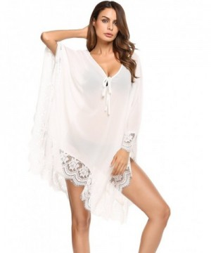Zeagoo Through Floral Chiffon Cover up