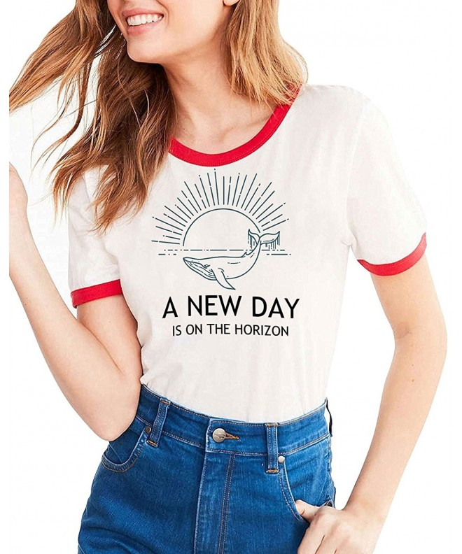 Ofenbuy Womens Shirts Graphic T Shirt
