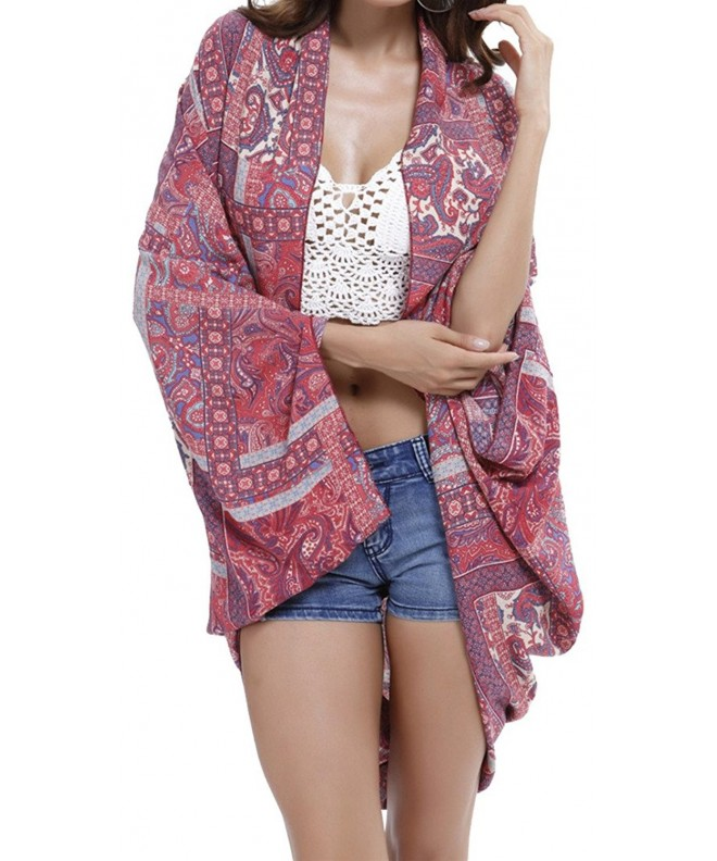 TBONTB Womens Swimwear Blouse Cardigan