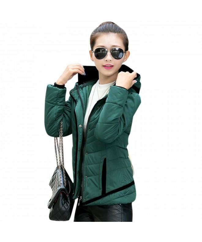 Mojessy Womens Winter Hooded Overcoat