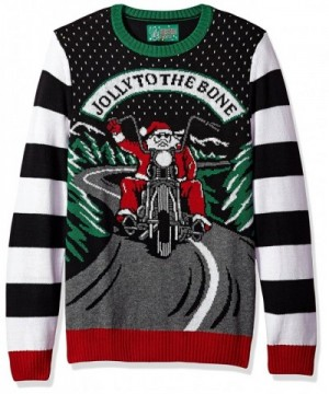Ugly Christmas Sweater Jolly Black