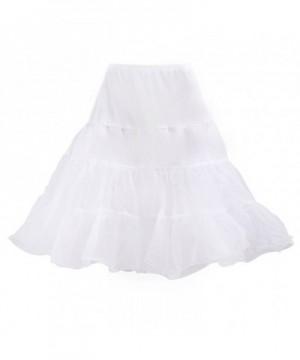 HDE Petticoat Vintage Rockabilly Underskirt
