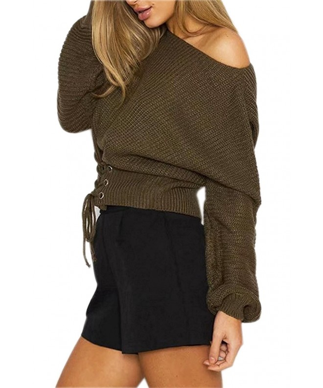 Choies Womens Green Sweater Jumper
