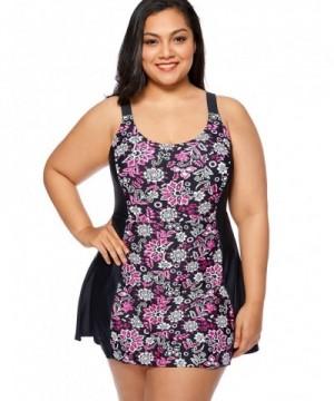 Delimira Swimdress Skirted Swimsuit Multicoloured