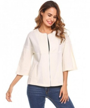 Unibelle Womens Lightweight Cardigan Collarless