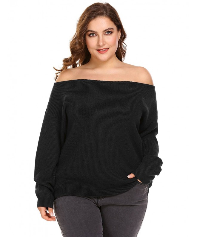 Blenko Womens Sweater Shoulder Pullover
