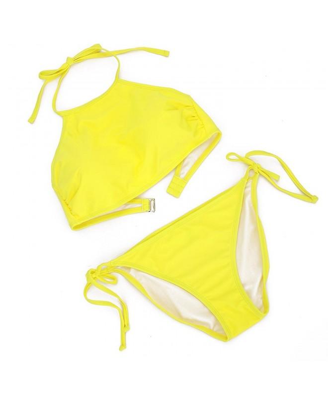 Queenskini Bikini Triangle Swimsuit Swimwear