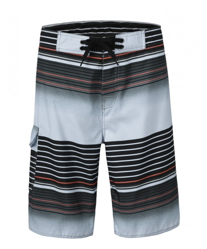 Nonwe Boardshorts Colorful Stripe 13100 30
