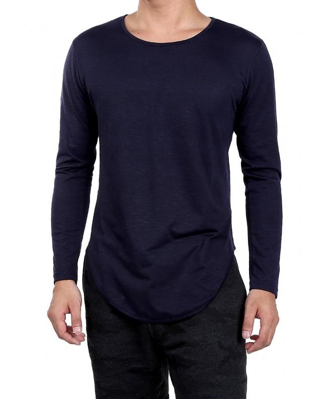 Satinior Sleeve T shirts Basic Cured