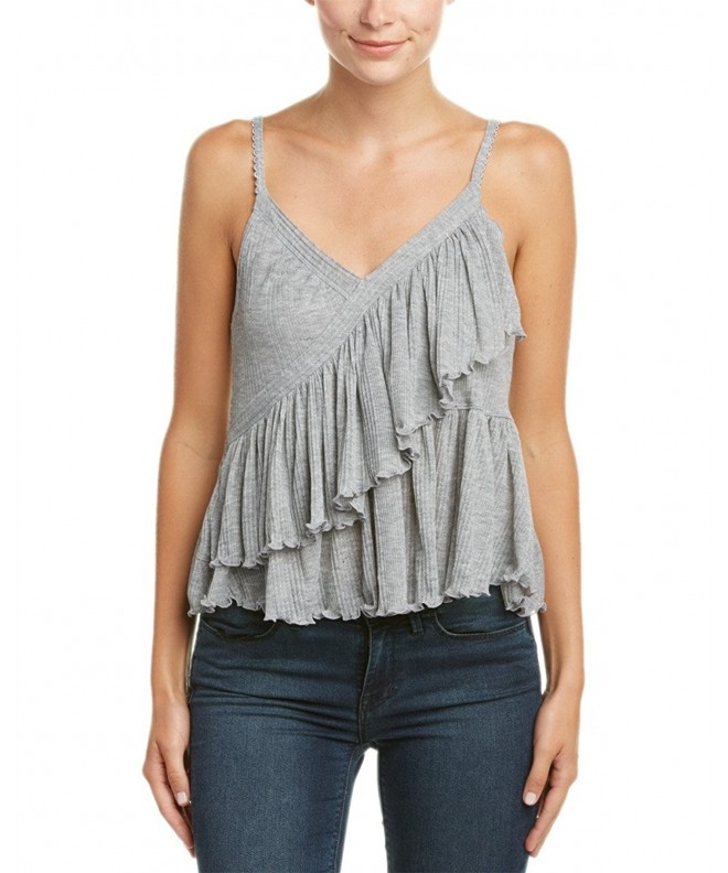 Free People Womens Tiered Asymmetrical