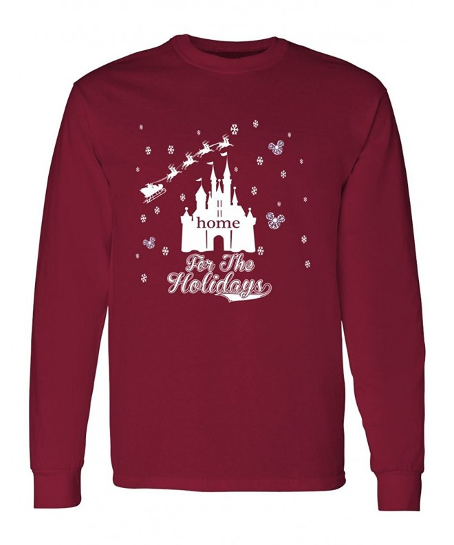 DisGear Disney Holidays Mens Sleeve T Shirt