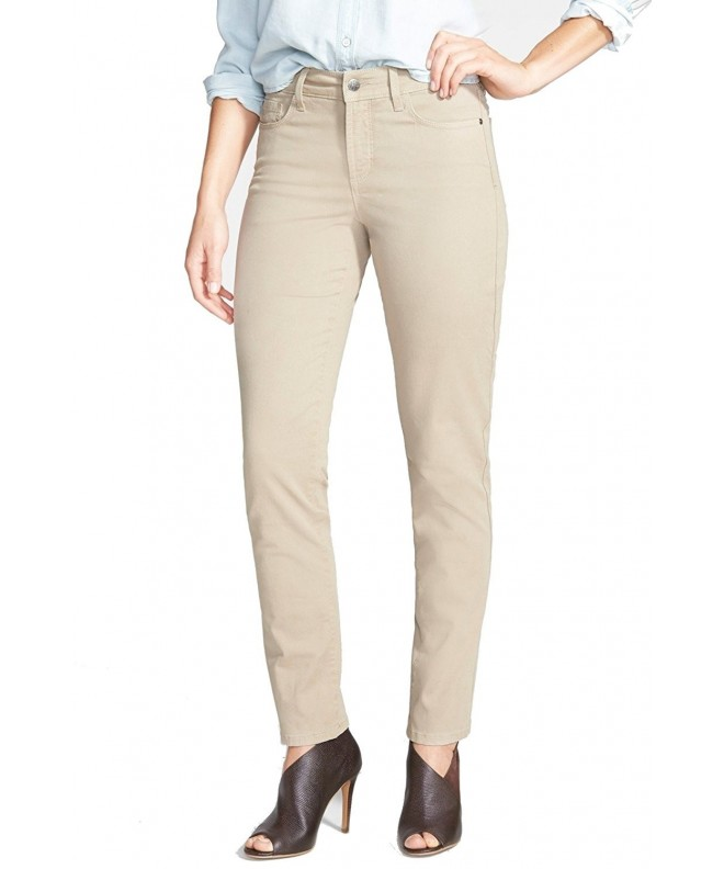 NYDJ Beige Womens Skinny Stretch