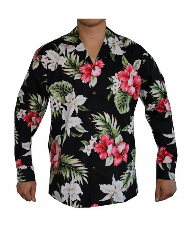 Sleeve Island Flowers Hawaiian Aloha